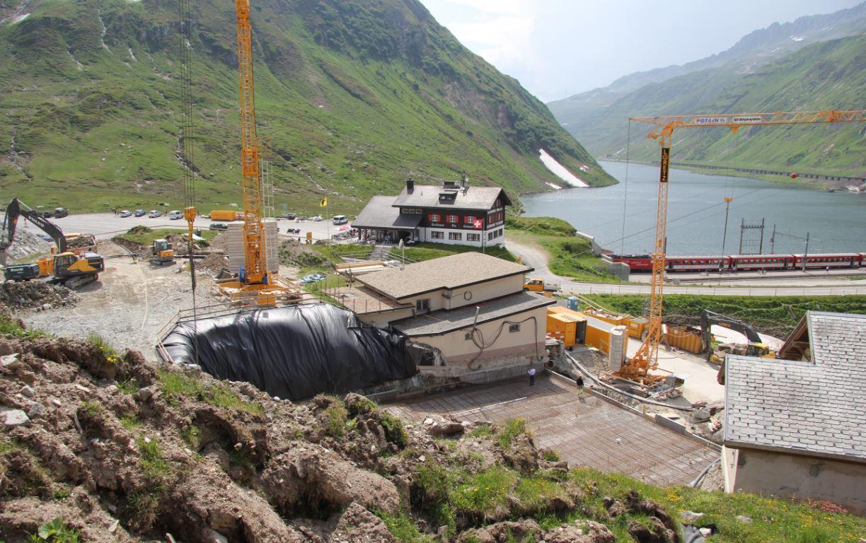 Skigebietserweiterung zwischen Andermatt und Sedrun