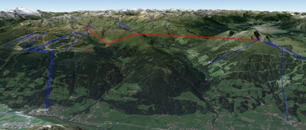 Skiverbindung vom Spieljoch zum Hochzillertal