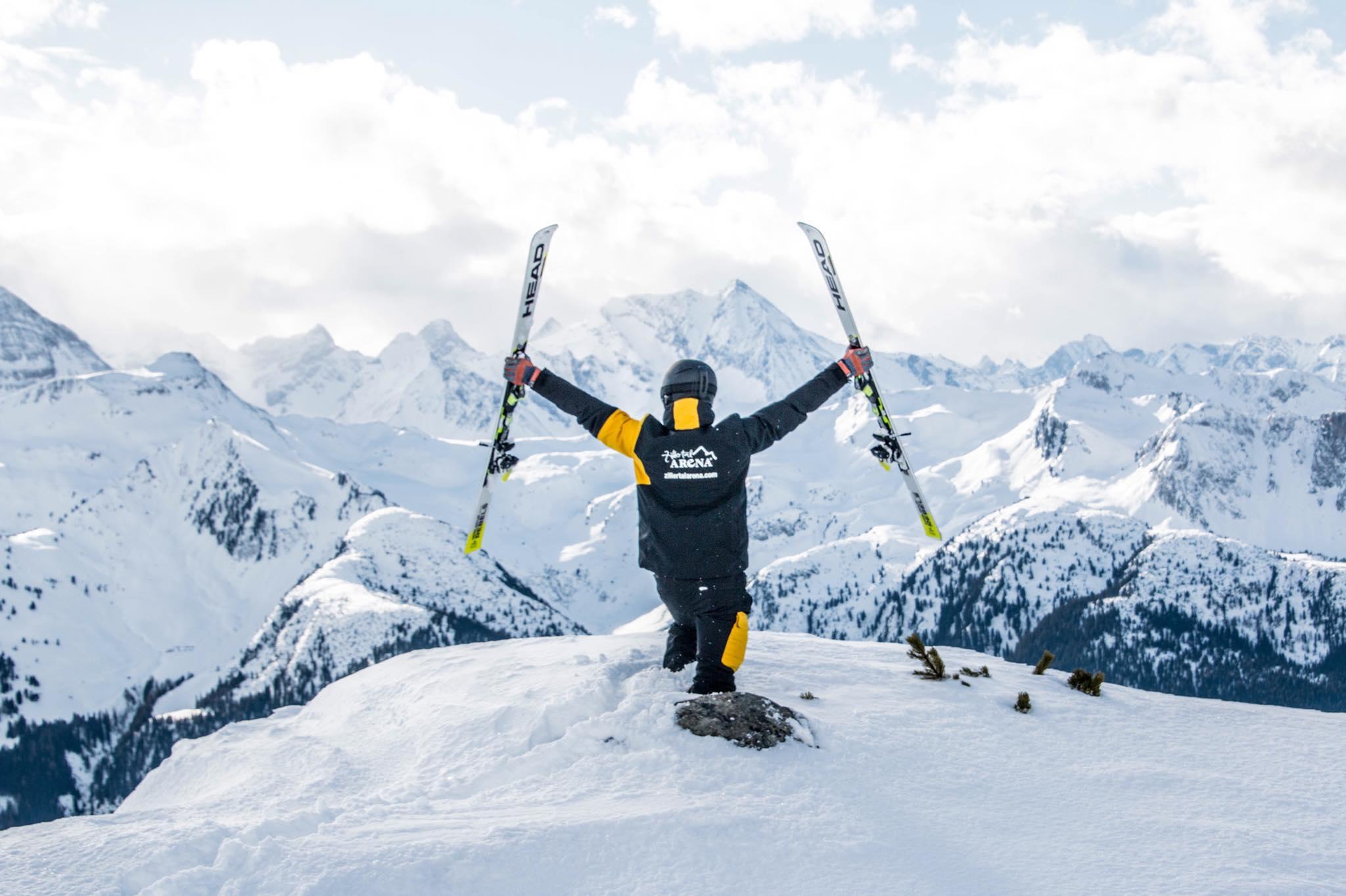 Gesucht: Skifahrender Reporter in der Zillertal Arena