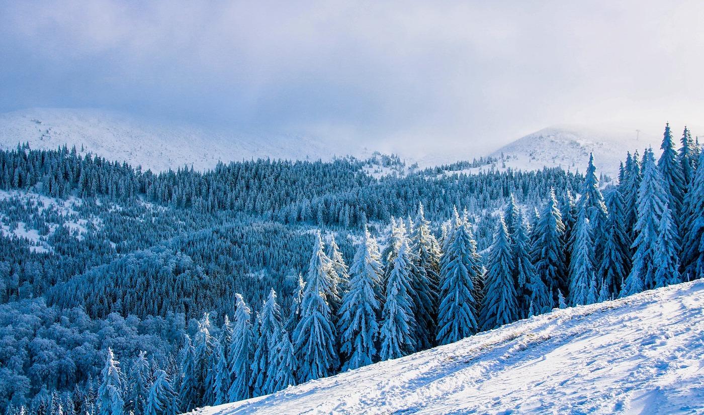 skigebied in roemenie